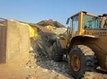 تخریب 50 ساخت و ساز غیرمجاز در اراضی زراعی و باغی رباط کریم