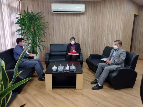 دیدار ریاست سازمان جهاد کشاورزی خراسان با  مدیر عامل شرکت شهرکهای کشاورزی کشور