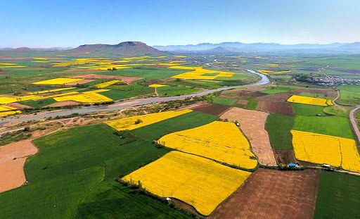 ترسیم قطعات اراضی کشاورزی در شهرستان هشترود