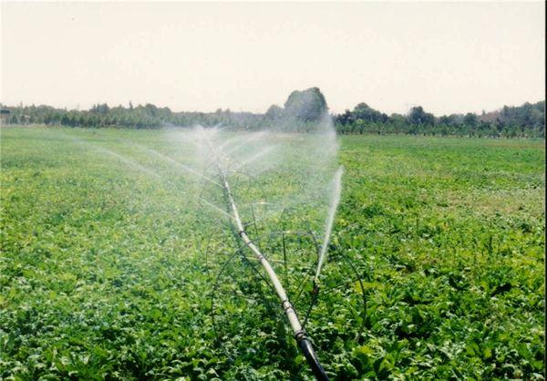 آبیاری 720 هکتار از اراضی فردیس با سیستمهای نوین آبیاری