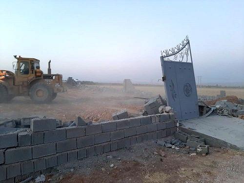 ساخت و سازهای غیرمجاز در حومه شیراز تخریب شد