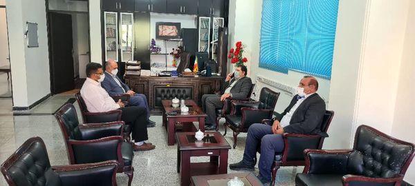 دیدار مدیرکل امور عشایر استان با فرماندار آبدانان