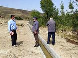 احداث و بهسازی کانال آبیاری عمومی روستای دستجرد شهرستان ورزقان