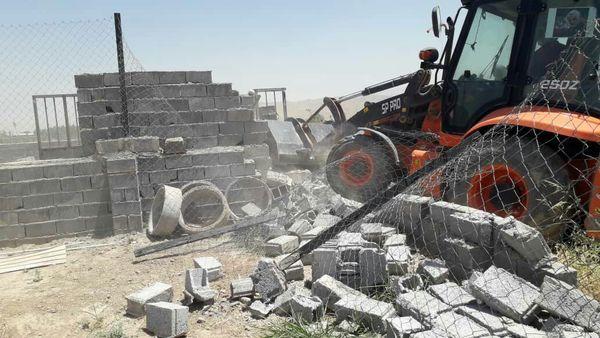 آزادسازی 1.5 هکتار از اراضی کشاورزی شهرستان پاکدشت