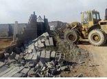 تخریب ۳۰۰ مورد ساخت و ساز غیر مجاز در اراضی کشاورزی شهرستانهای چهارباغ و اشتهارد