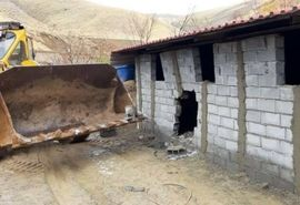 آزادسازی و خلع ید ۳۷ هکتار از اراضی ملی در سوادکوه شمالی