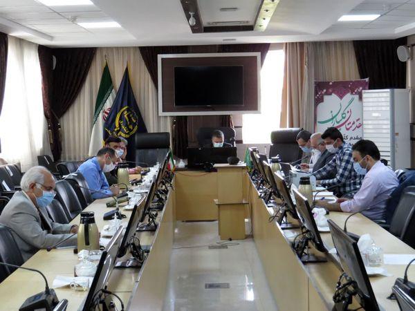 ششمین جلسه کمیسیون رفع تداخلات در سازمان جهاد کشاورزی خراسان شمالی برگزار شد