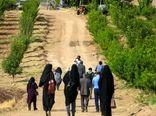 بازدید اصحاب رسانه از نهالستان مدرن در  سامان