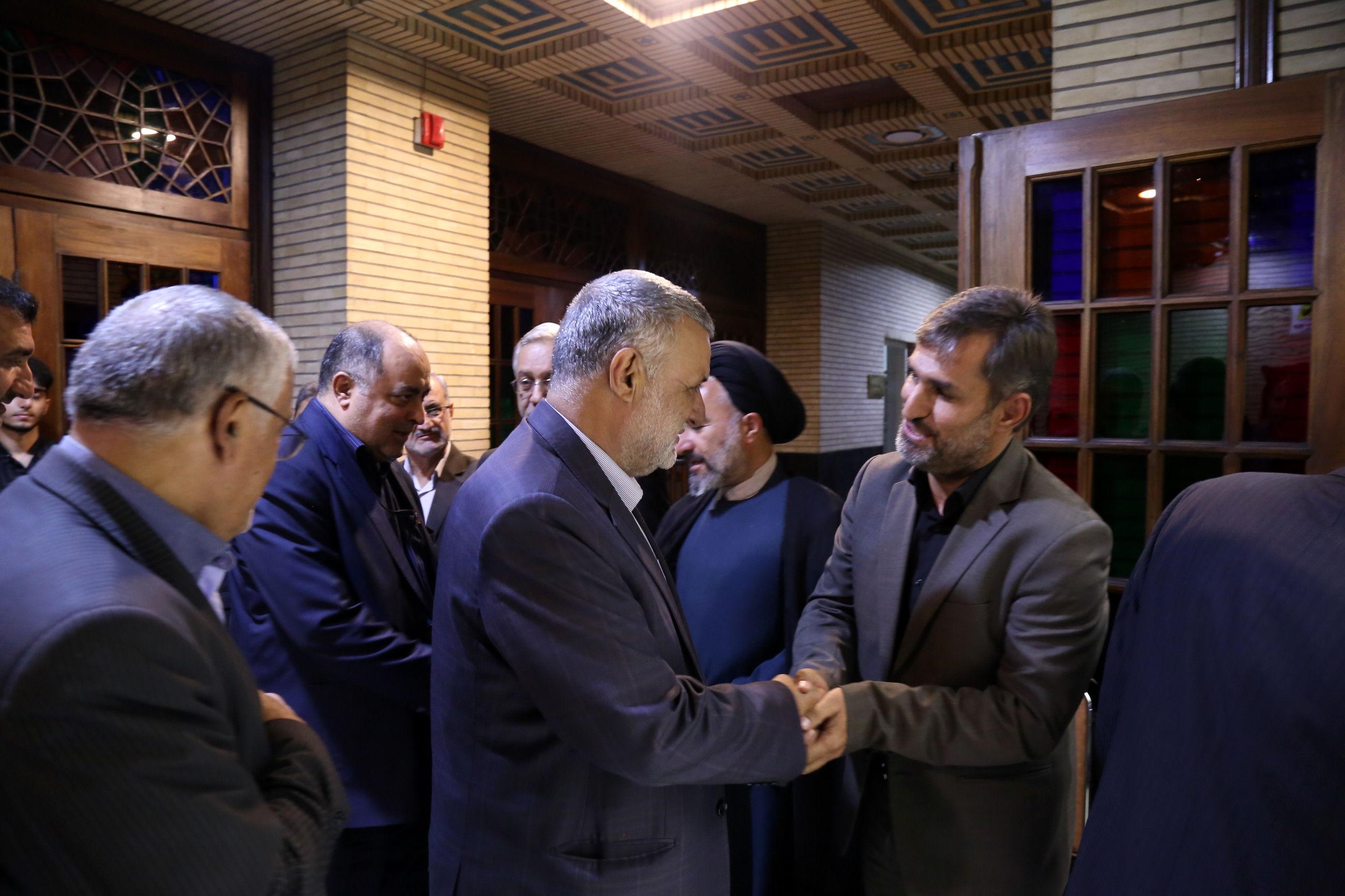 مجلس ترحیم ابوی رئیس مرکز روابط عمومی و اطلاع رسانی وزارت جهادکشاورزی
