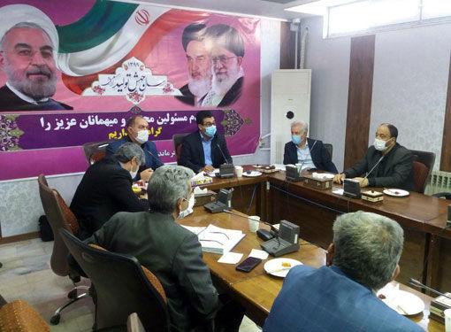 برگزاری جلسه بررسی مسائل و مشکلات پایاب سد ارسباران شهرستان کلیبر