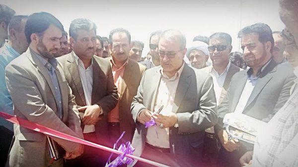 افتتاح پروژههای کشاورزی شهرستان کوار