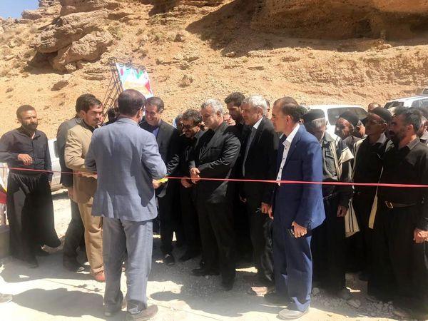 پل ارتباطی رودخانه ماربر در شهرستان کوهرنگ افتتاح شد