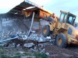 اجرای 3 فقره حکم قلع و قمع بناهای غیرمجاز در اراضی کشاورزی شهرستان هریس