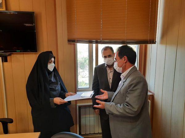 انتصاب سرپرست مدیریت جهادکشاورزی شهرستان بوئین زهرا