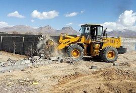 قلع و قمع سه فقره تغییر کاربری غیرمجاز در اراضی کشاورزی شهرستان کیار