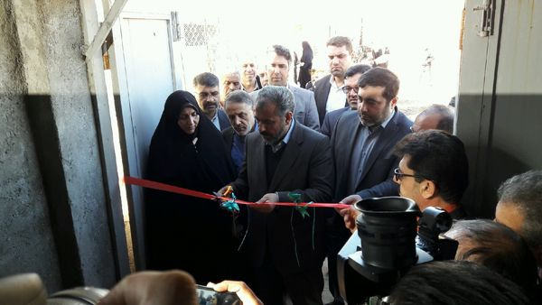 یک طرح آبیاری نوین در شهرستان تاکستان افتتاح شد