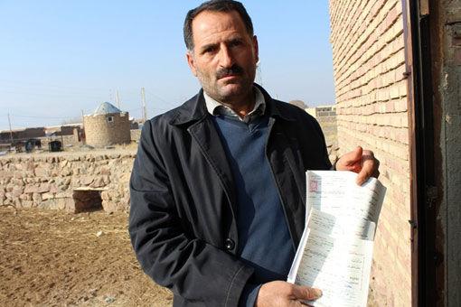 تخصیص 50 تن جو دامی به دامدار خسارت دیده در منطقه یکانات شهرستان مرند