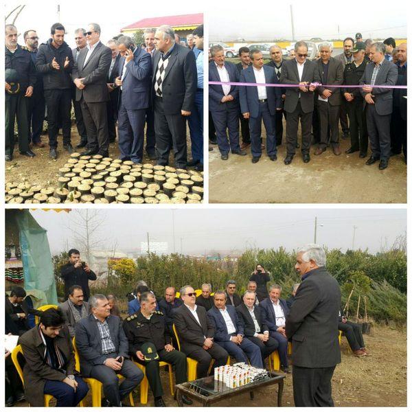 افتتاح مجتمع گل و گیاهان زینتی در رودسر