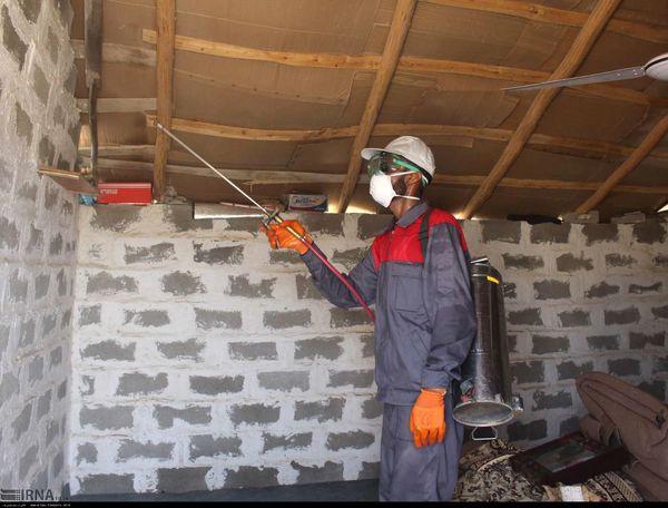 آغاز عملیات سمپاشی مالاریا در 78 روستا ومناطق حاشیه شهر چابهار