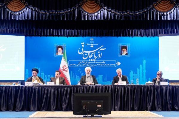 افتتاح همزمان و آغاز عملیات اجرایی 125 پروژه بخش کشاورزی آذربایجان شرقی