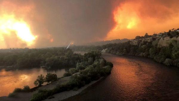 آتشسوزی در شمال کالیفرنیا