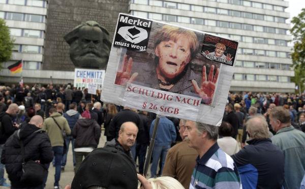 تظاهرات ضدمهاجرت در آلمان