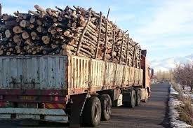 خودرو حامل 5 تن چوب قاچاق در محور فیروزکوه - سمنان توقیف شد