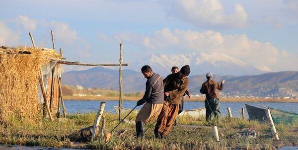 صید ماهی از منابع آبی کردستان آغاز شد