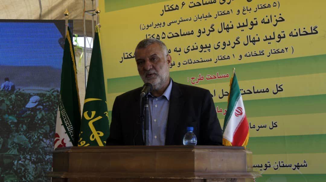 بازدید و بهره برداری از پروژه های کشاورزی در سفر وزیر جهاد کشاورزی به استان همدان
