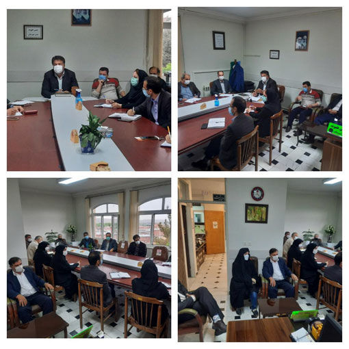 برگزاری جلسه بهینه سازی مصرف سم در شهرستان آذرشهر