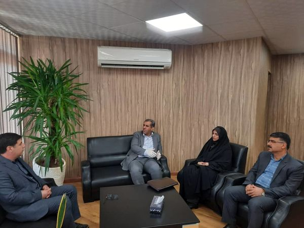 دیداراستاندار قزوین با مدیر عامل شرکت شهرک های کشاورزی کشور
