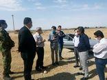 بازدید از اراضی مورد تقاضایای شرکت تعاونی خوشهداران پاکدشت