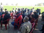 نخستین گردهمایی رونق اقتصادی با محوریت کشتهای گلخانهای و سیستمهای نوین آبیاری در بخش شهداد برگزار شد