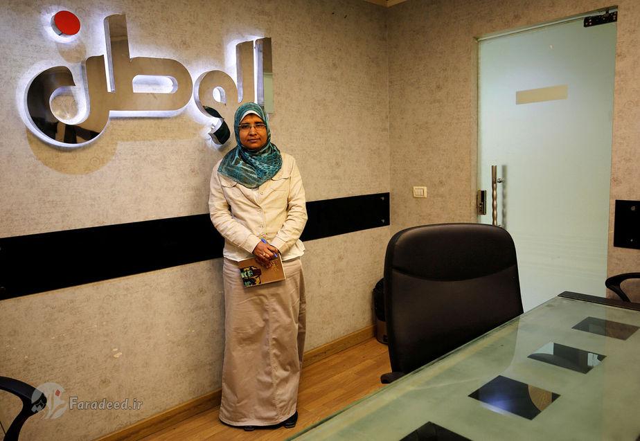 سما عبدالعطی، 38 ساله، نویسنده روزنامه الوطن، مصر