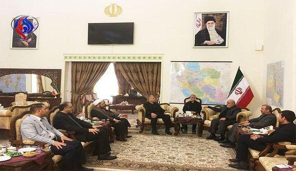 دیدار سفیر ایران در عراق با مشاور ارشد العبادی