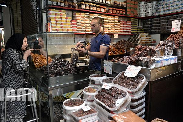 بازار خرما در ماه مبارک رمضان