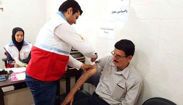 تزریق ۱۶۴ واحد واکسن مننژیت به حجاج