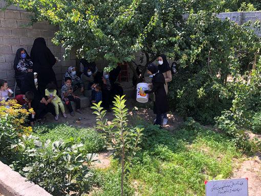 اجرای طرح تولید کمپوست خانگی و کاهش ضایعات توسط زنان روستایی در بناب