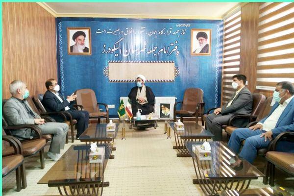 دیدار رئیس سازمان جهاد کشاورزی استان لرستان با امام جمعه شهرستان الیگودرز