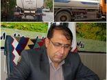 اعزام یک دستگاه کامیون آبرسان ۱۲ هزار لیتری به خوزستان