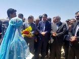 عملیات اجرایی احداث مجتمع گلخانه ای 5 هکتاری در شهرستان بوانات