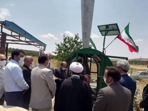 نصب و راه اندازی 5 دستگاه سامانه ضدتگرگ در باغات شهرستان هشترود