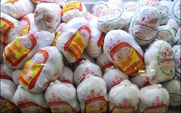 توزیع ۳۰۰ تن مرغ منجمد در خوزستان
