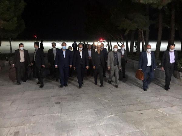 وزیرجهادکشاورزی واردزاهدان شد