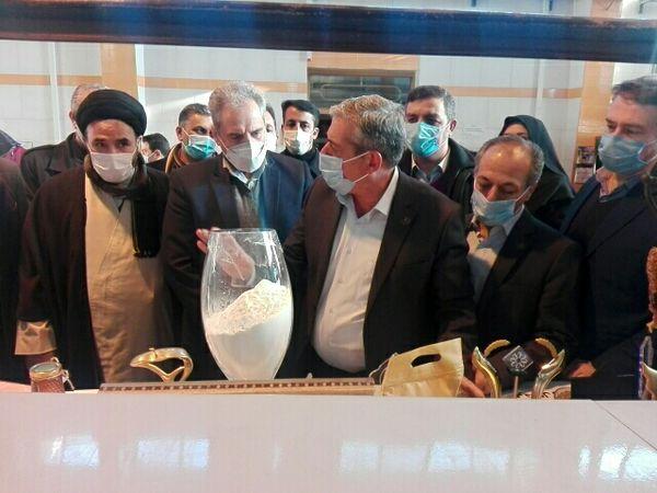 بازدید از کارخانه فرآوری و بستهبندی عسل در شهرستان ارومیه