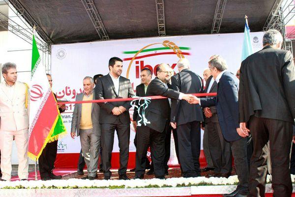 افتتاحیه یازدهمین نمایشگاه بینالمللی صنعت آرد و نان/ گزارش تصویری