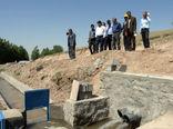 بازدید رئیس سازمان جهادکشاورزی استان از پروژه های آب و خاک شهرستان سراب