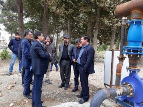 تجهیز اراضی کشاورزی شهریار به سیستم نوین آبیاری