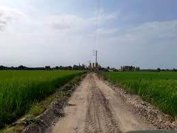 اتمام جاده بین مزارع علی آباد در کوار