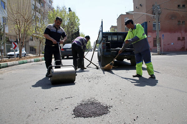 اجرای عملیات نگهداشت معابر شمال تهران تا یک ماه آینده